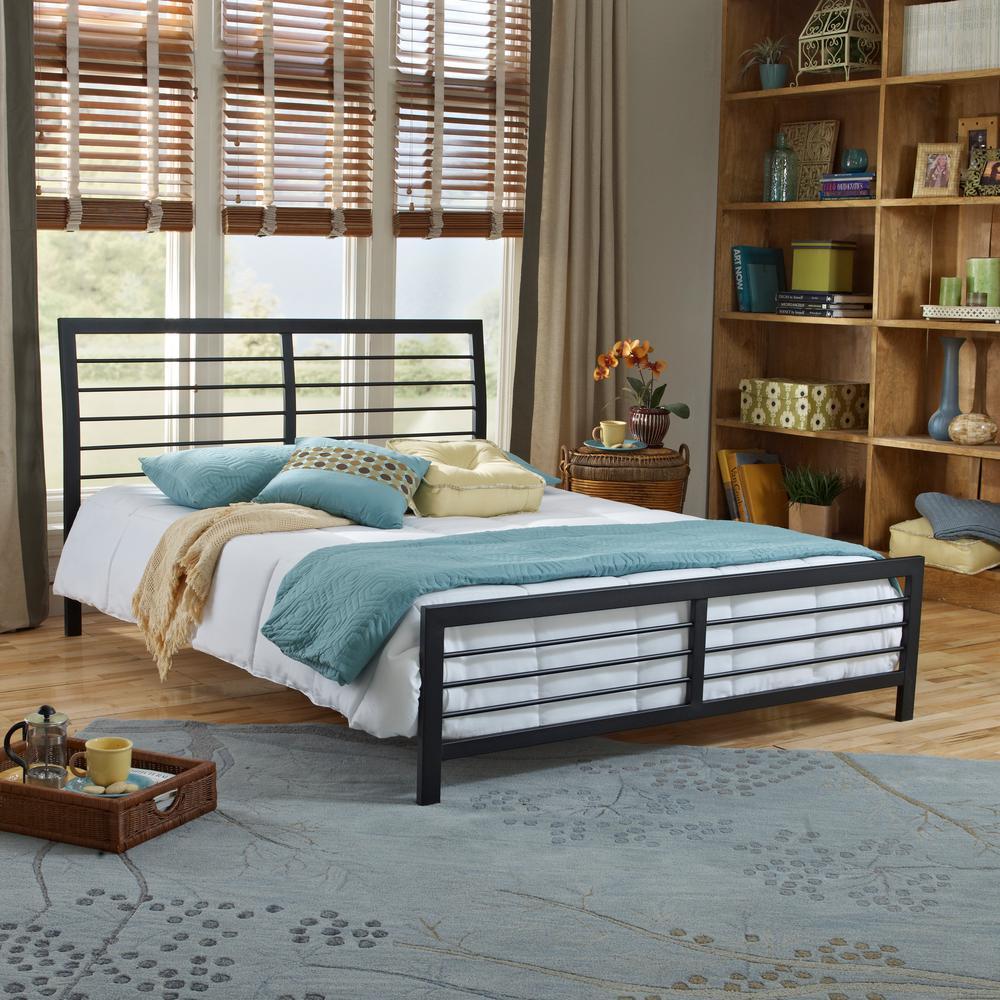 Torra Black Full Bed Frame