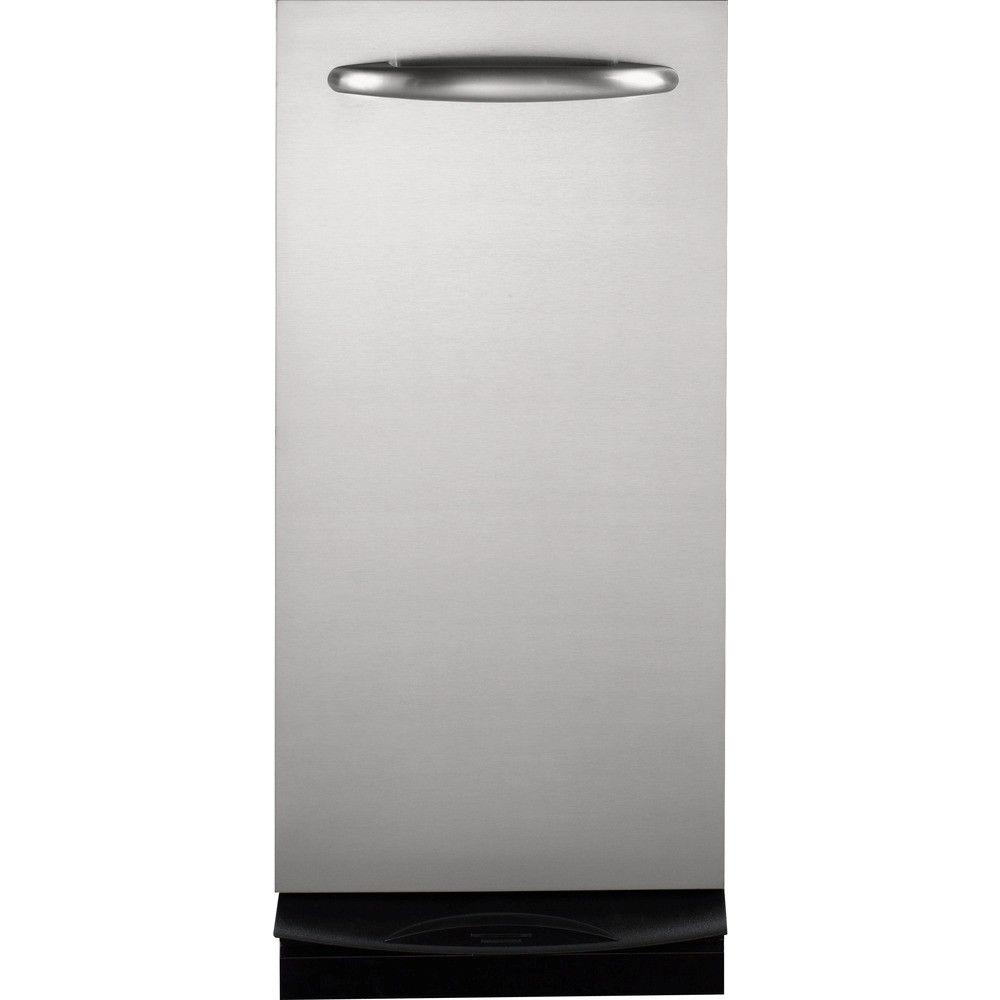GE Profile 15 in. Built-In Trash Compactor in Stainless Steel