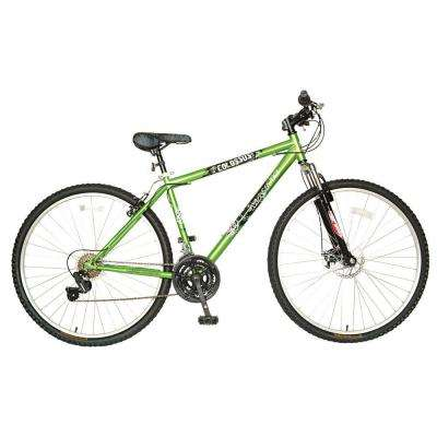Colossus G.0 Hard Tail Mountain Bike, 29 in. Wheels, 19 in. Frame, Men's Bike in Green