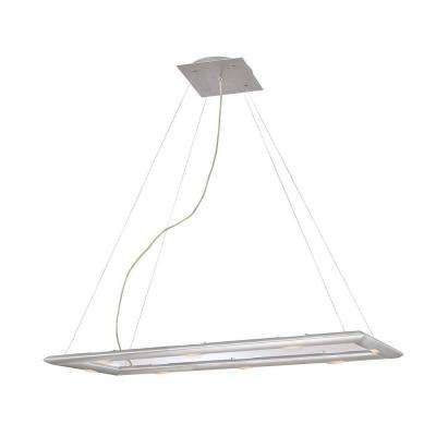 Forma 6-Light Silver Pendant