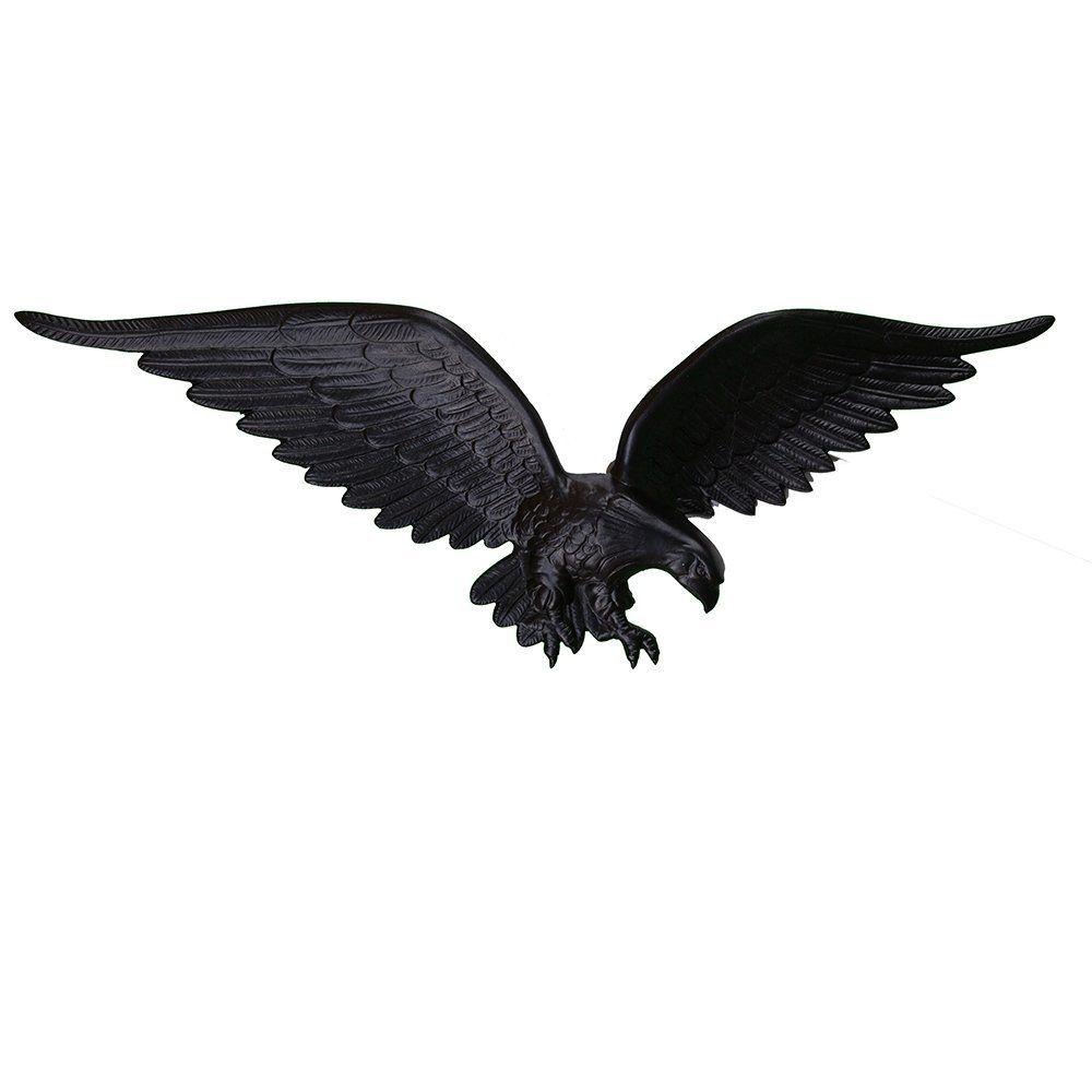 Montague Metal Products 24 In Black Wall Eagle We 24 Sb