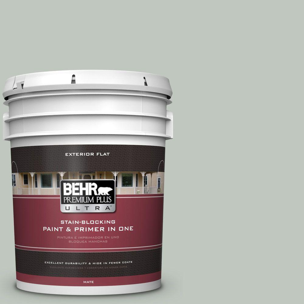 BEHR Premium Plus Ultra 5-gal. #700E-3 Contemplation Flat Exterior Paint