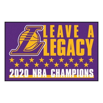 NBA - Los Angeles Lakers 2020 NBA Finals Champions Rug - 19in. x 30in.
