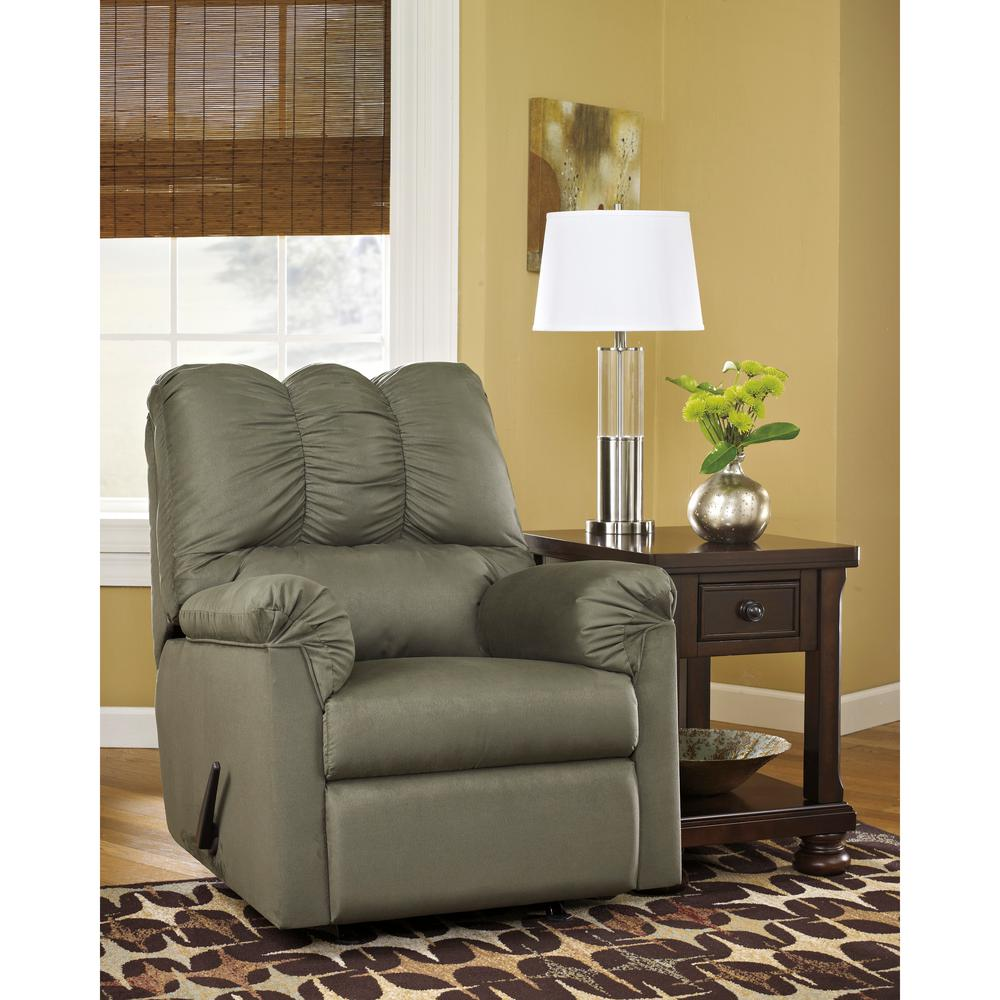Signature Design by Ashley Darcy Sage Fabric Rocker Recliner