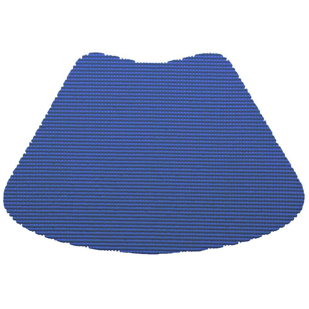 Kraftware Fishnet Wedge Placemat in Blue (Set of 12) by Kraftware