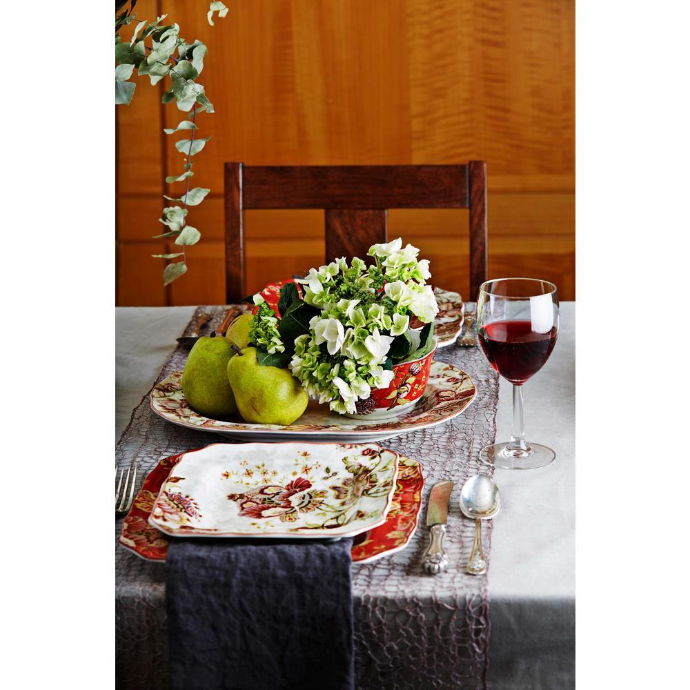 Gabrielle Cream 16-Piece Dinnerware Set