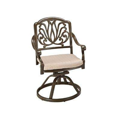 Floral Blossom Patio Dining Chair