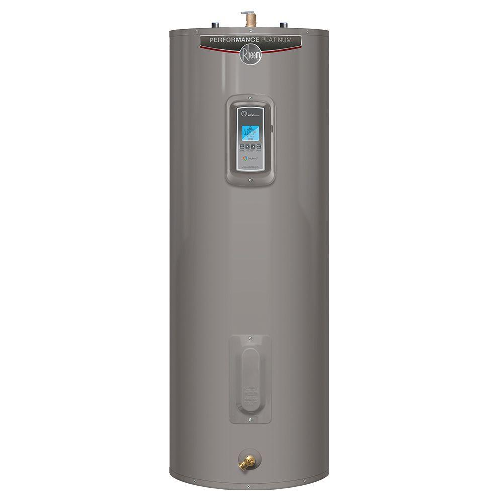 Rheem Performance Platinum 55 Gal. Tall 12 Year 4500/4500-Watt Elements Mobile Alert Compatible Electric Tank Water Heater