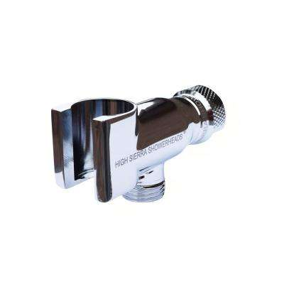 All Metal Universal Handheld Shower Holder in Chrome