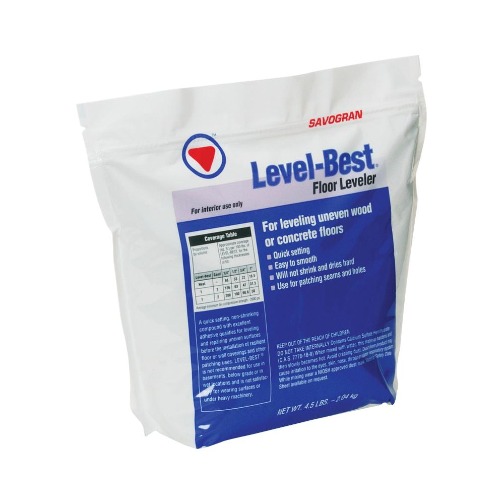 Savogran 12832 4.5 lbs. Level Best Floor Leveler, Whites