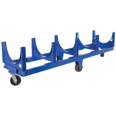 10,000 lb. 123 x 31.5 in. Heavy Duty Cradle Cart