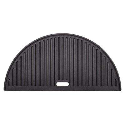 Big Joe Half Moon Cast Iron Reversible Griddle