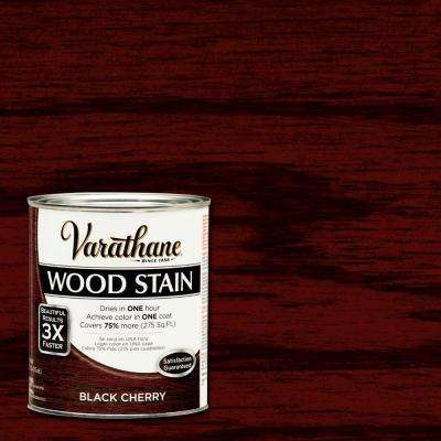 1 qt. 3X Black Cherry Premium Wood Stain (Case of 2)