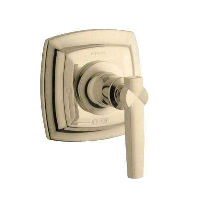 Margaux 1-Handle Volume Control Valve Trim Kit with Lever Handle in Vibrant French Gold (Valve Not Included)