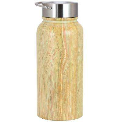 Bosworth 30 oz. Wood Grain Thermal Bottle