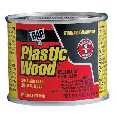 Plastic Wood 4 oz. Walnut Solvent Woodfiller