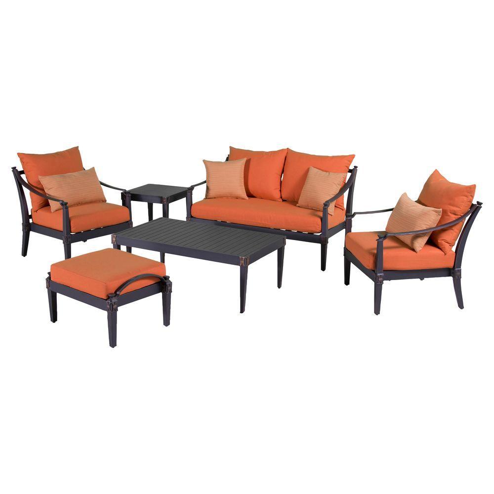 Love Club Deep Seating Set Tikka Cushions