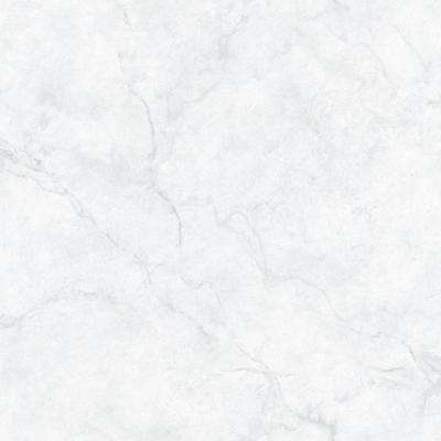 White and Off-White Carrara Marble Peel and Stick Wallpaper