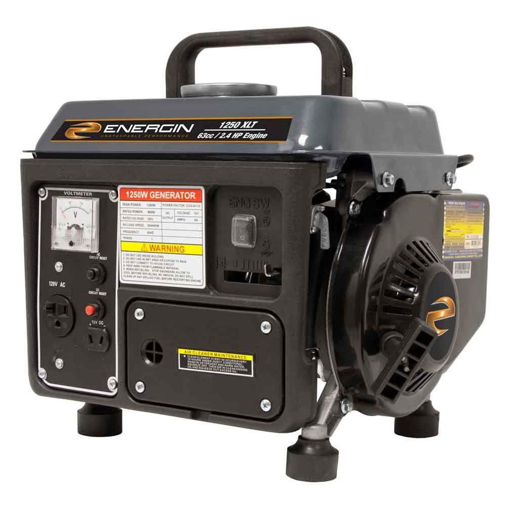 Energin 800-Watt EPA Approved Gasoline Powered Portable Generator