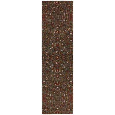 Western Prairie Saddle 2 ft. 1 in. x 7 ft. 10 in. Runner