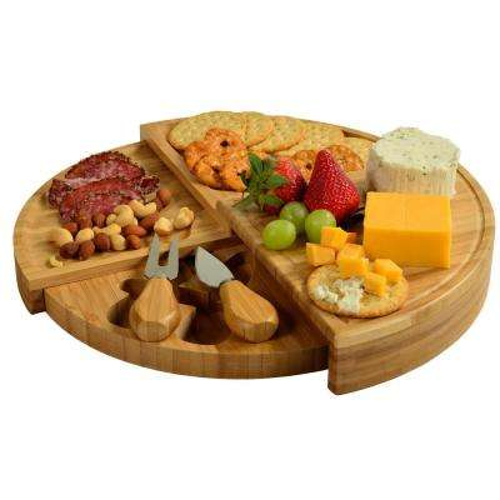 Florence Transforming Bamboo Cheese Board Set