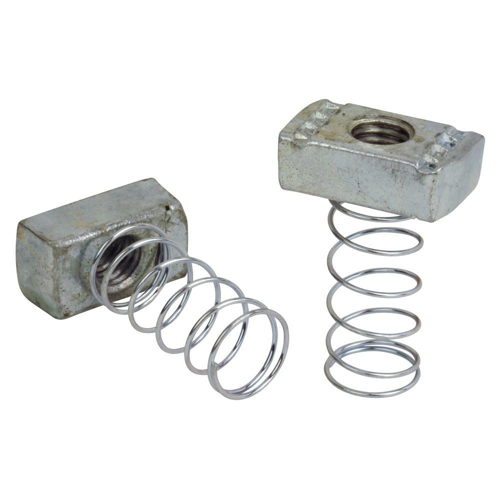 1/4 in. Channel Spring Nut (5-Pack)