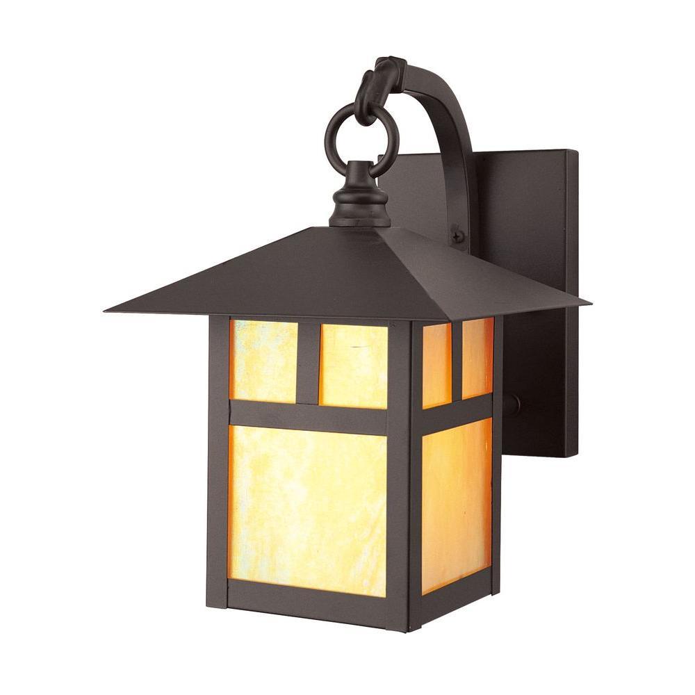 Livex Lighting 1-Light Bronze Outdoor Wall Lantern Sconce