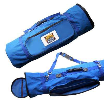 Blue Mat Carry Bag With Adjustable Shoulder Strap For 6 Ft. X 9 Ft.