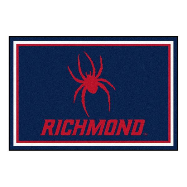 NCAA University of Richmond 5 ft. x 8 ft. Ultra Plush Area Rug