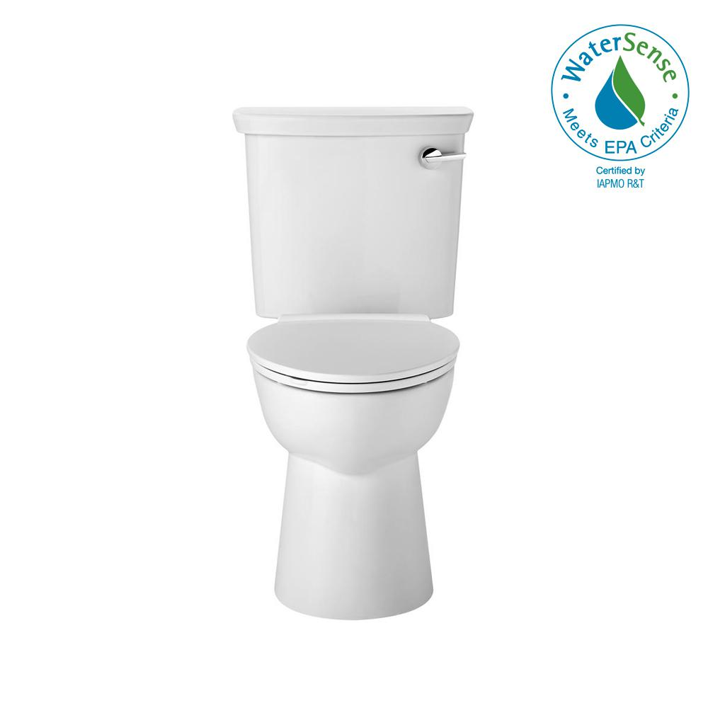 Vormax UHET 2-piece toilet 1.0 GPF Dual Flush Elongated Toilet in