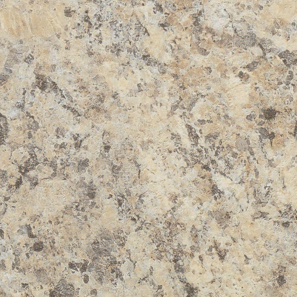 60 in. x 144 in. Pattern Laminate Sheet in Belmonte Granite Etchings