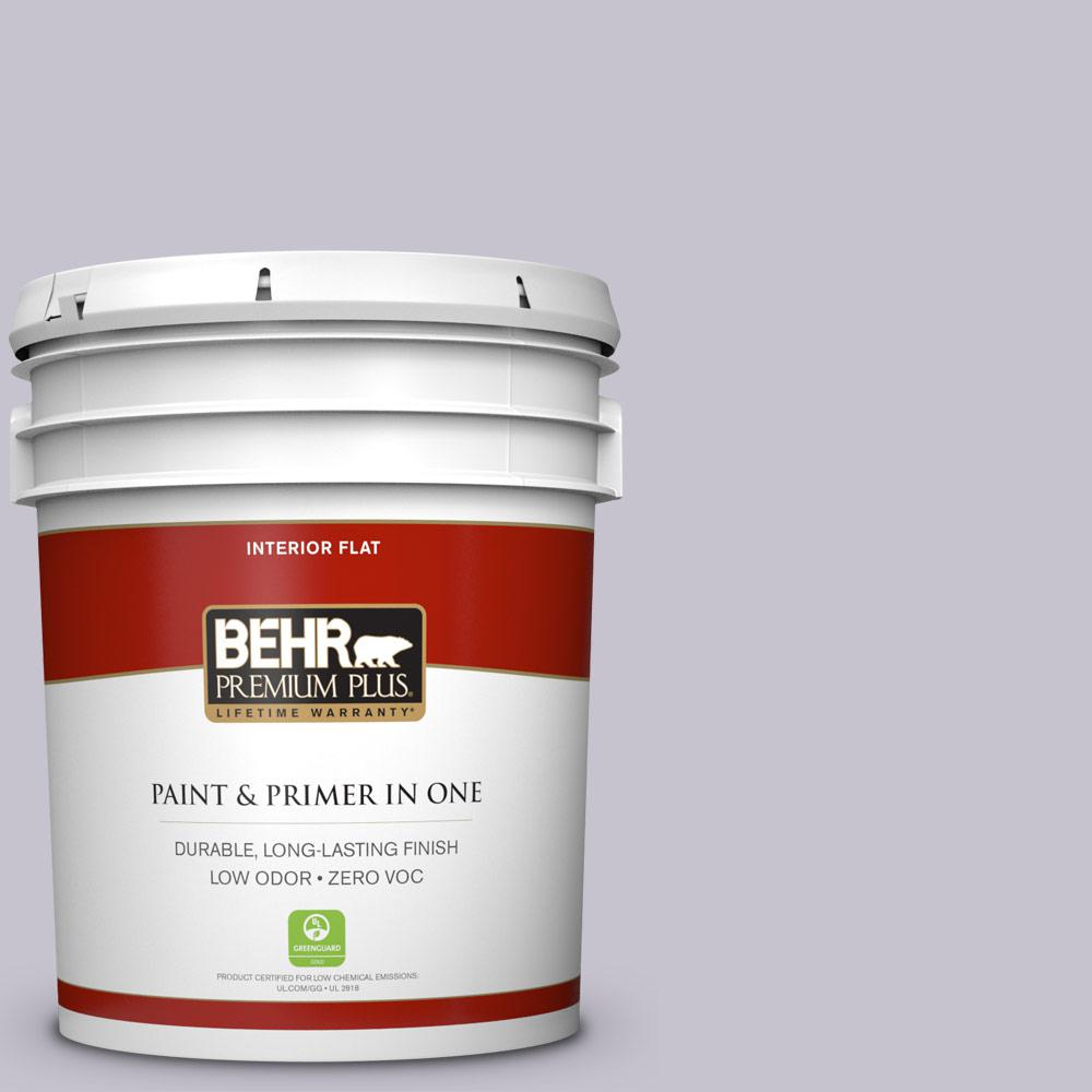 BEHR Premium Plus 5-gal. #N560-1 Posture and Pose Flat Interior Paint