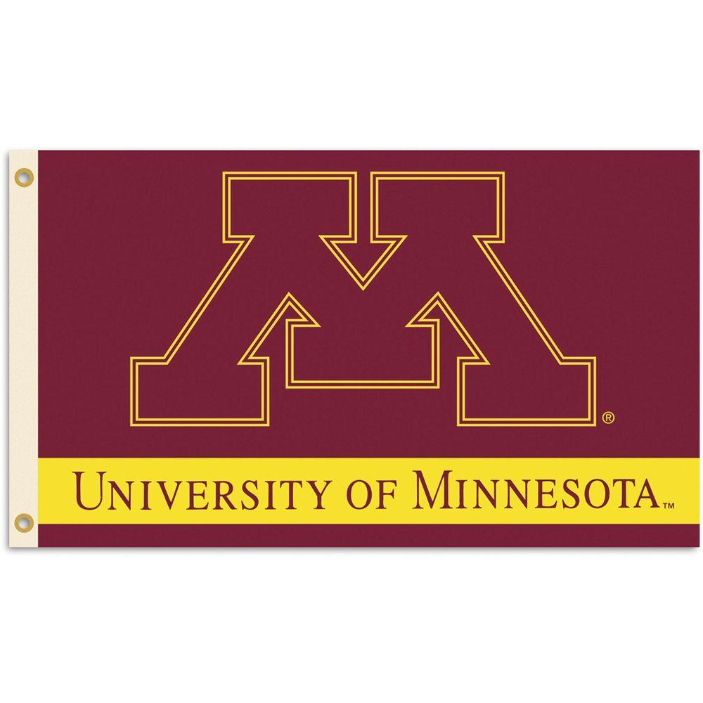 BSI Products NCAA 3 ft. x 5 ft. Minnesota Flag-DISCONTINUED