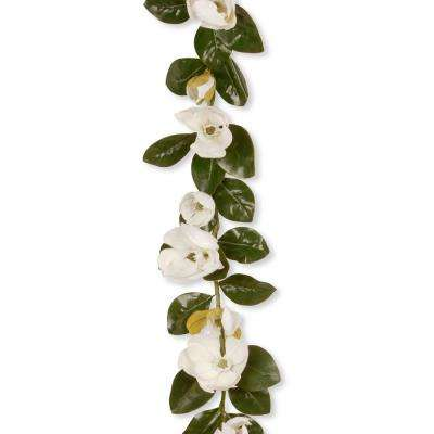 60 in. Magnolia Garland