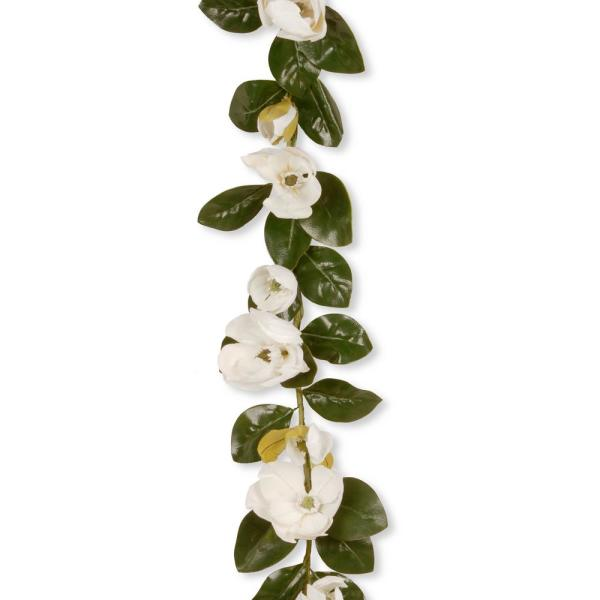National Tree Company 60 in. Magnolia Garland GAM30-60G-C1