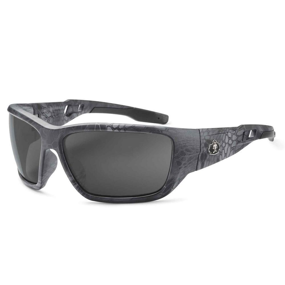 Skullerz Baldr Kryptek Typhon Safety Glasses, Tinted Lens - ANSI Certified