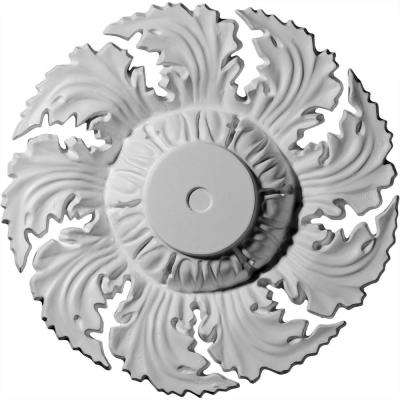 14-5/8 in. OD x 2-1/4 in. P (Fits Canopies up to 4-1/4 in.) Needham Polyurethane Ceiling Medallion