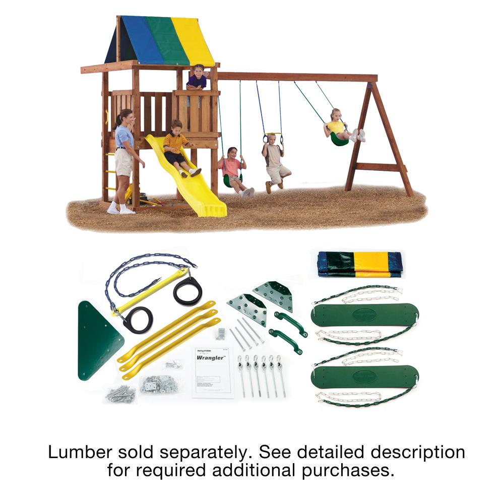 Swing n slide playsets do it yourself wrangler custom playset ws swing n slide playsets do it yourself wrangler custom playset solutioingenieria Image collections