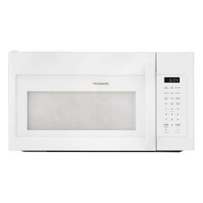 30 in. 1.7 cu. ft. Over the Range Microwave in White