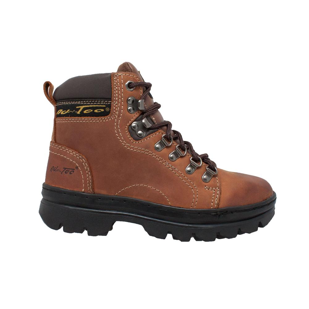 0d1654b3991 AdTec Women's Size 5.5 Brown Leather 6 in. Hiker Work Boots