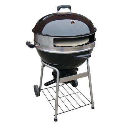 23 in. Dia Pizza Kettle Charcoal Grill