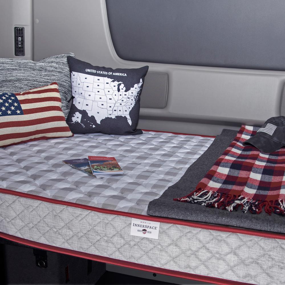 Truck Luxury Firm Support Reversible 6.5 in. Mattress 75 in. L x 38 in. W
