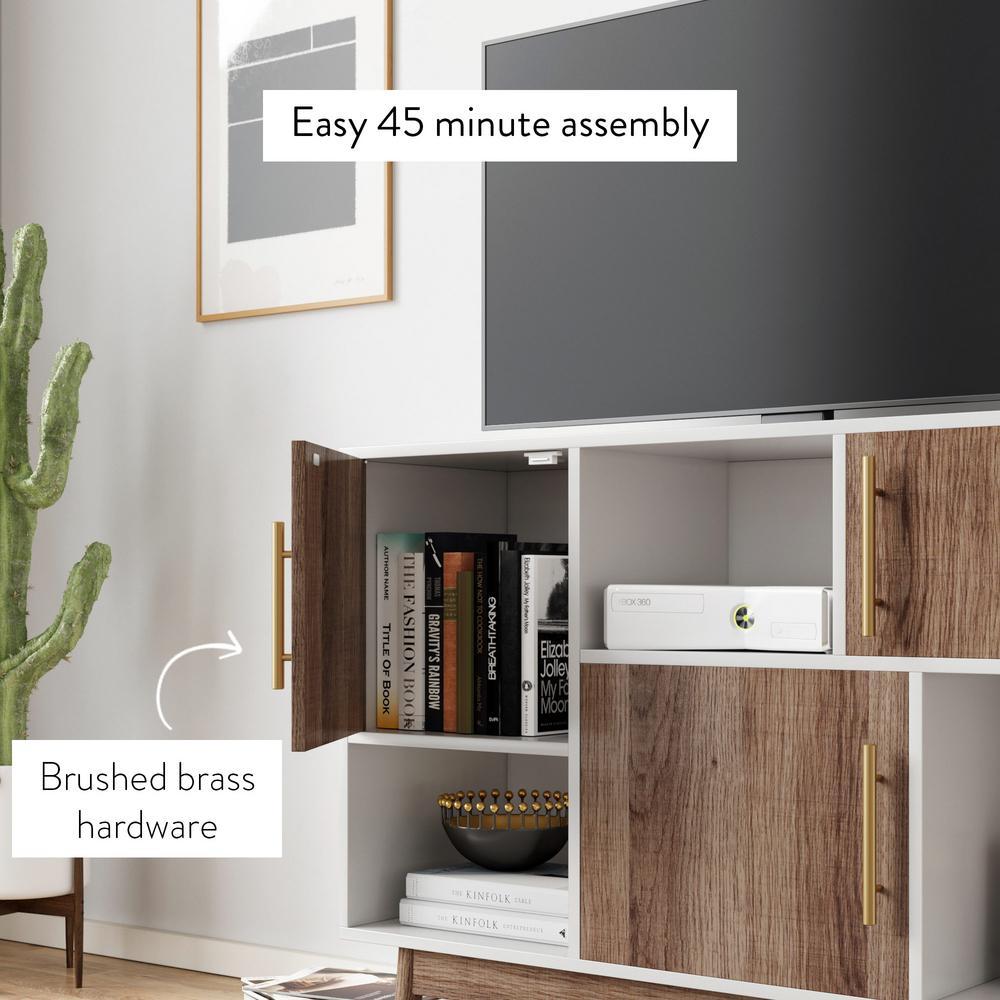 Nathan James 75501 Ellipse Multipurpose, Entryway Furniture Storage Units