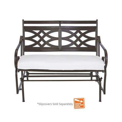Middletown Patio Glider With Cushion ...