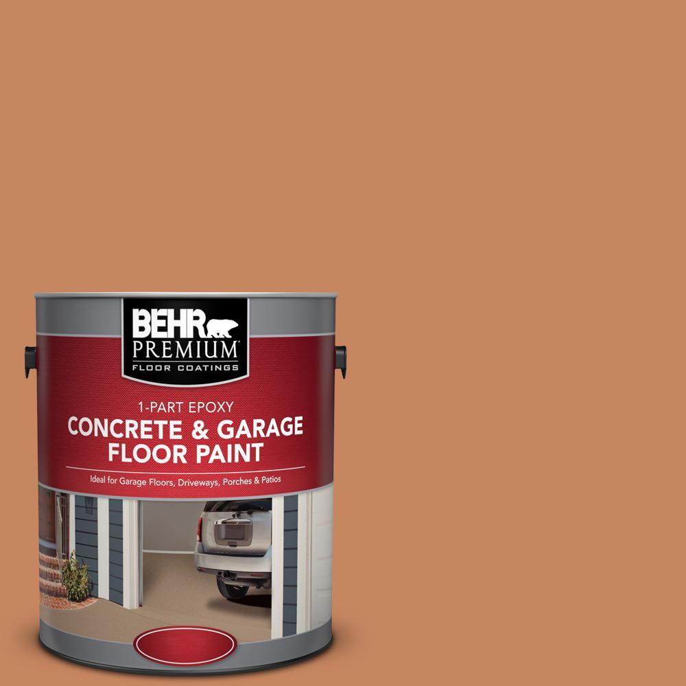 1 gal. #PFC-17 Rusty Orange 1-Part Epoxy Concrete and Garage Floor Paint