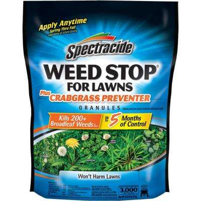 Weed Stop 10.8 lbs. Crabgrass Preventer Lawn Granules