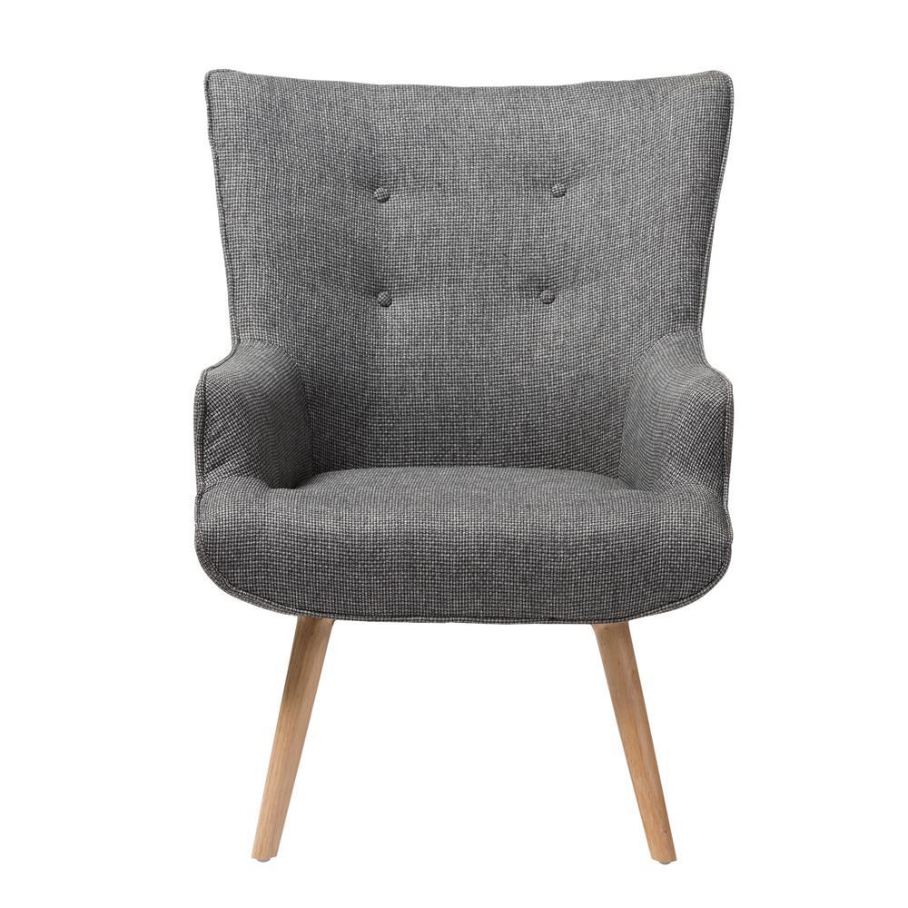 baxton studio iona mid century retro modern. Baxton Studio Nola Mid-Century Gray Fabric Upholstered Accent Chair Iona Mid Century Retro Modern