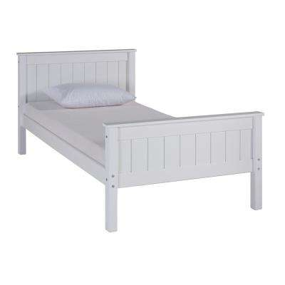 Harmony White Twin Bed