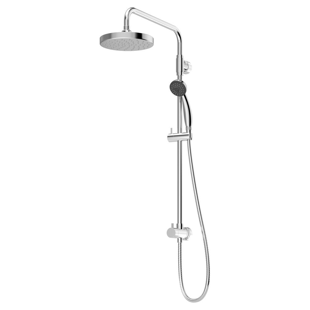 Dia 1-Spray Hand Shower and Shower Head Combo Kit in Chrome