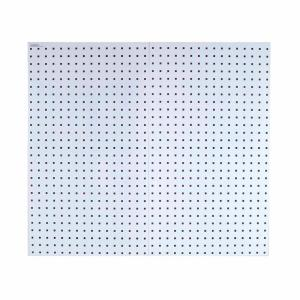 36 in. H x 18 in. W White Pegboard Wall Organizer LocBoard
